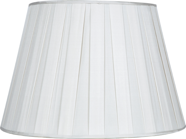 Box Pleat Silk - Drum - Lux Lampshades