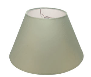 "Ice Plain Linen - Empire - 14"" - Lux Lampshades"