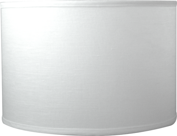 Snow Plain Linen - Barrel - 16.5""