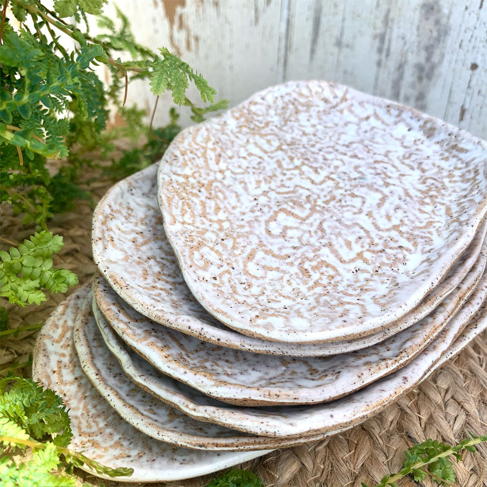 Coral Slab Plates
