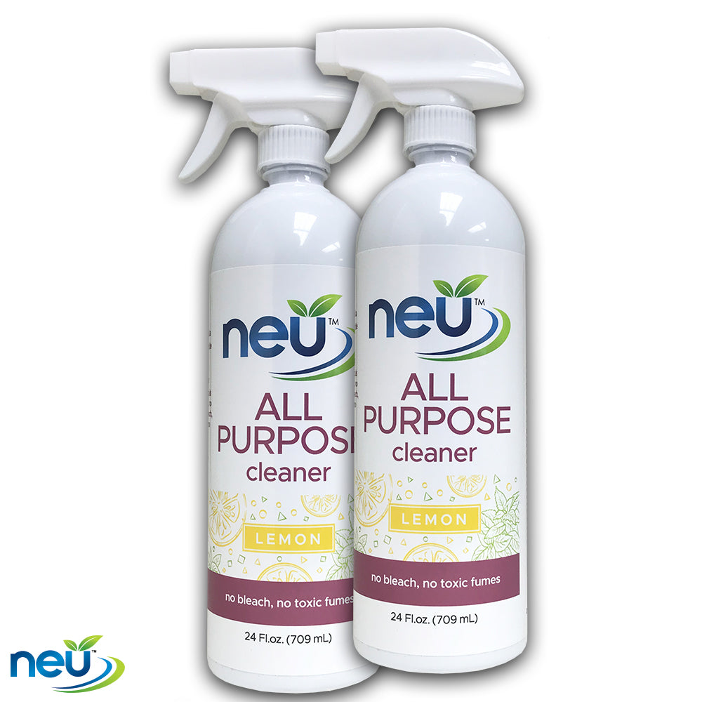 NEU All Purpose Cleaner Lemon Scent 24 oz