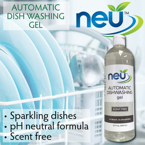 NEU Automatic Dishwasher Gel Graphic
