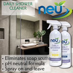 NEU Daily Shower Cleaner - Citrus Scent 24 oz 12 pk
