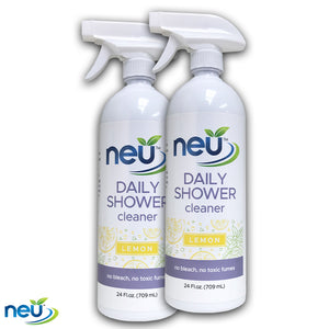 NEU Daily Shower Cleaner Lemon Scent 24 oz