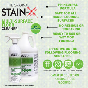 Stain-X Multi-Surface Floor Cleaner Graphic