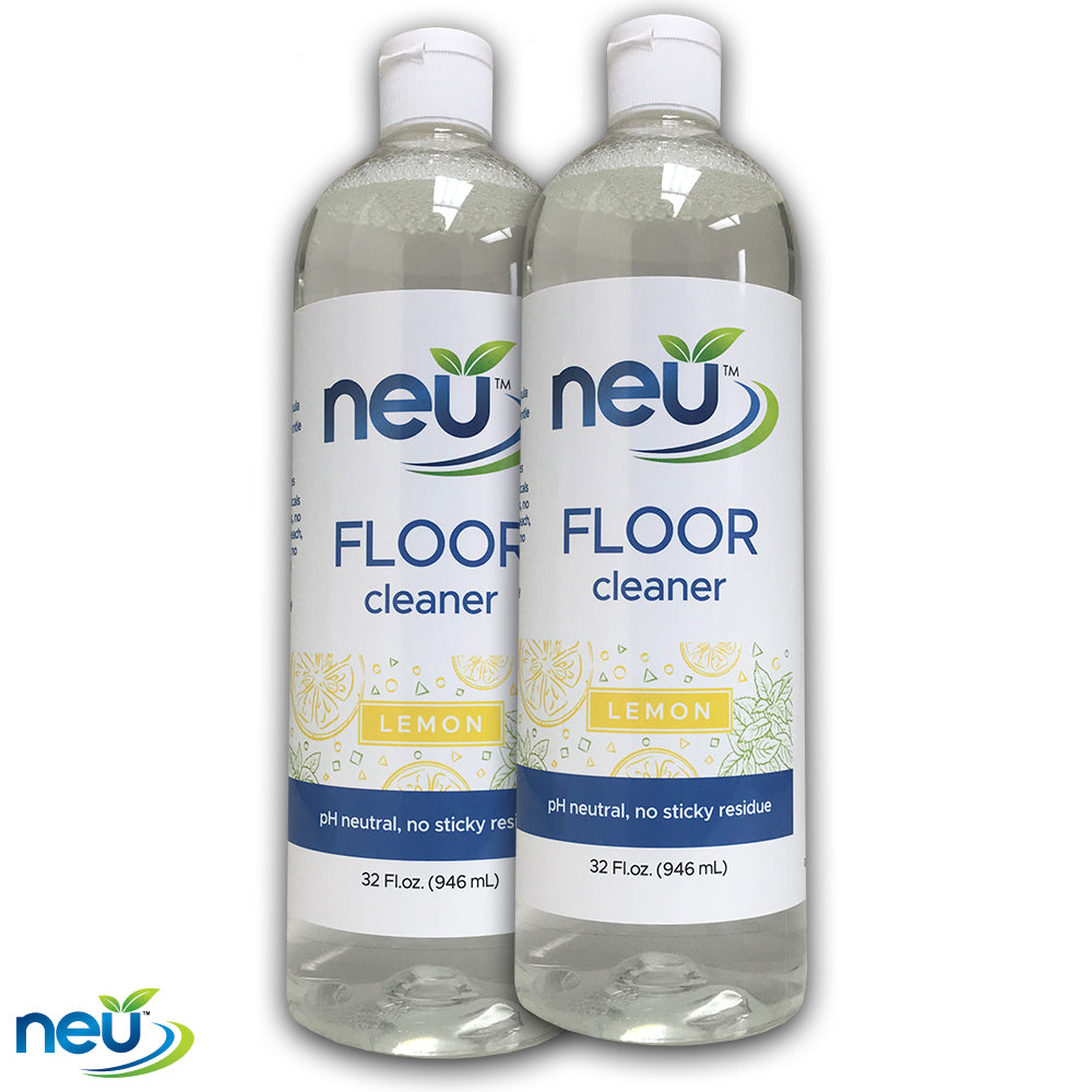 NEU Floor Cleaner Lemon Scent 32 oz