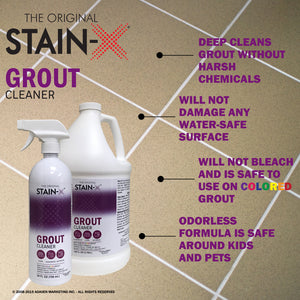 Stain-X Grout Cleaner Graphic