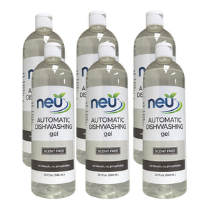 NEU Automatic Dishwasher Gel Scent Free 32 oz