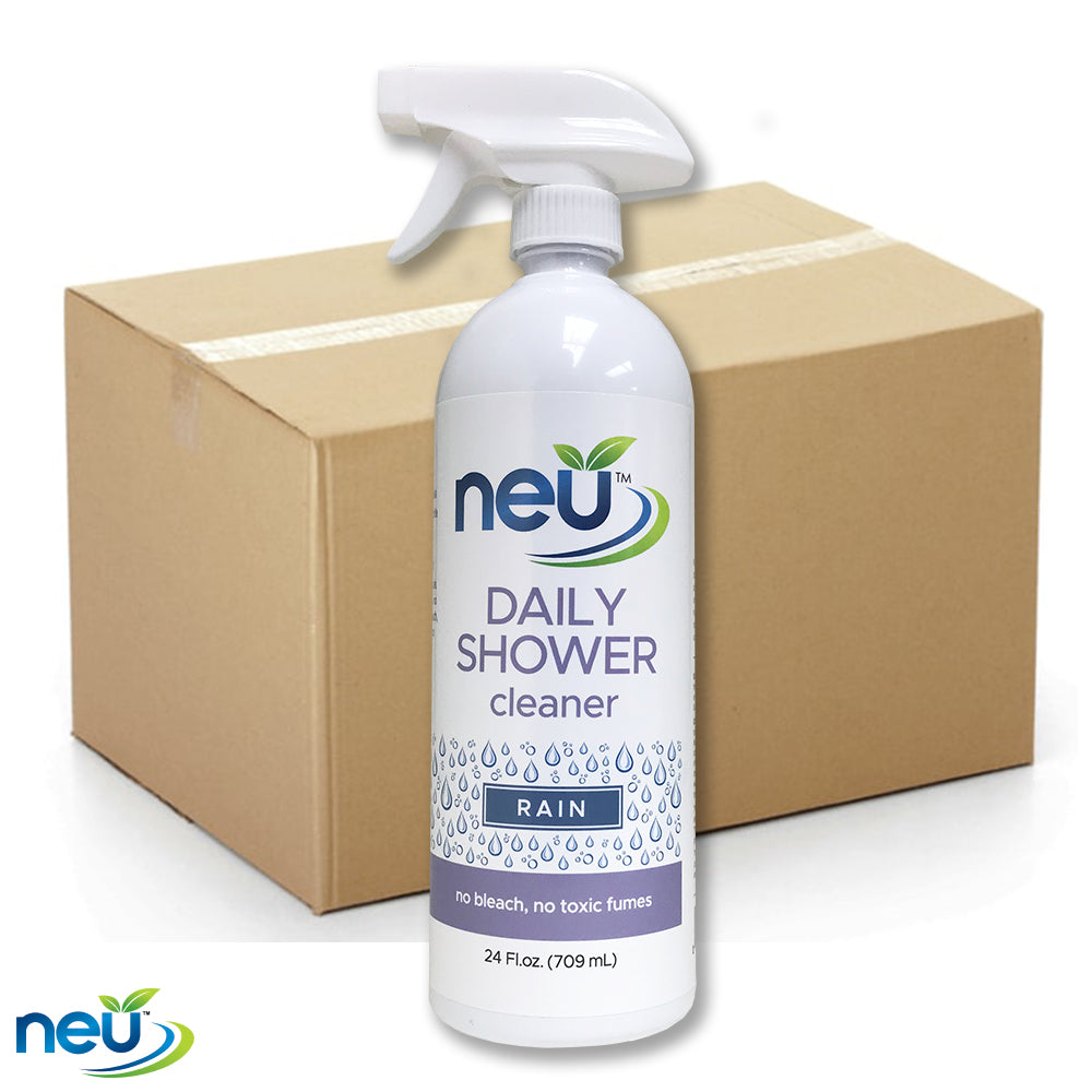 NEU Daily Shower Cleaner  - Rain Scent 24 oz 12 pk