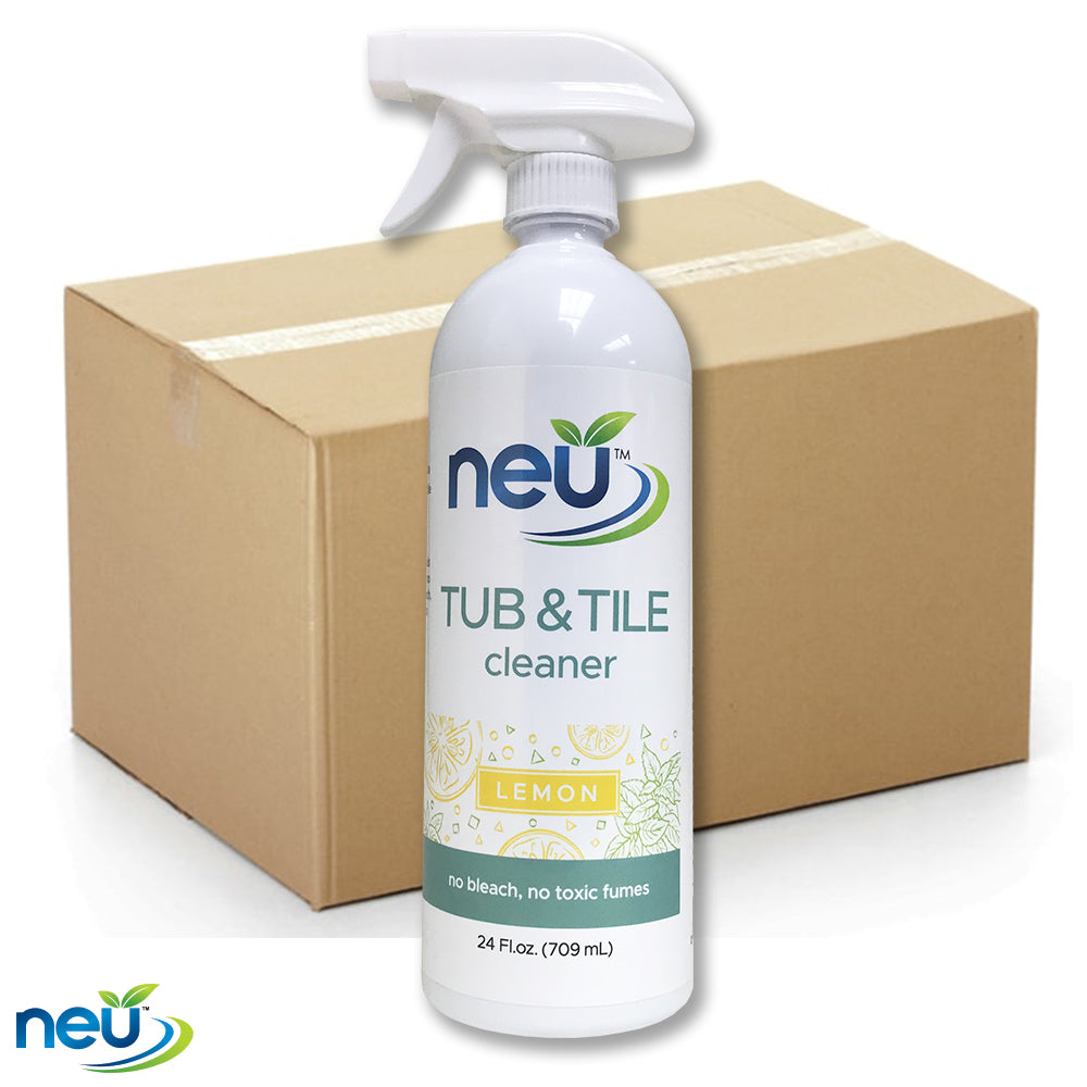 NEU Tub & Tile Cleaner - Citrus Scent 24 oz 12 pk