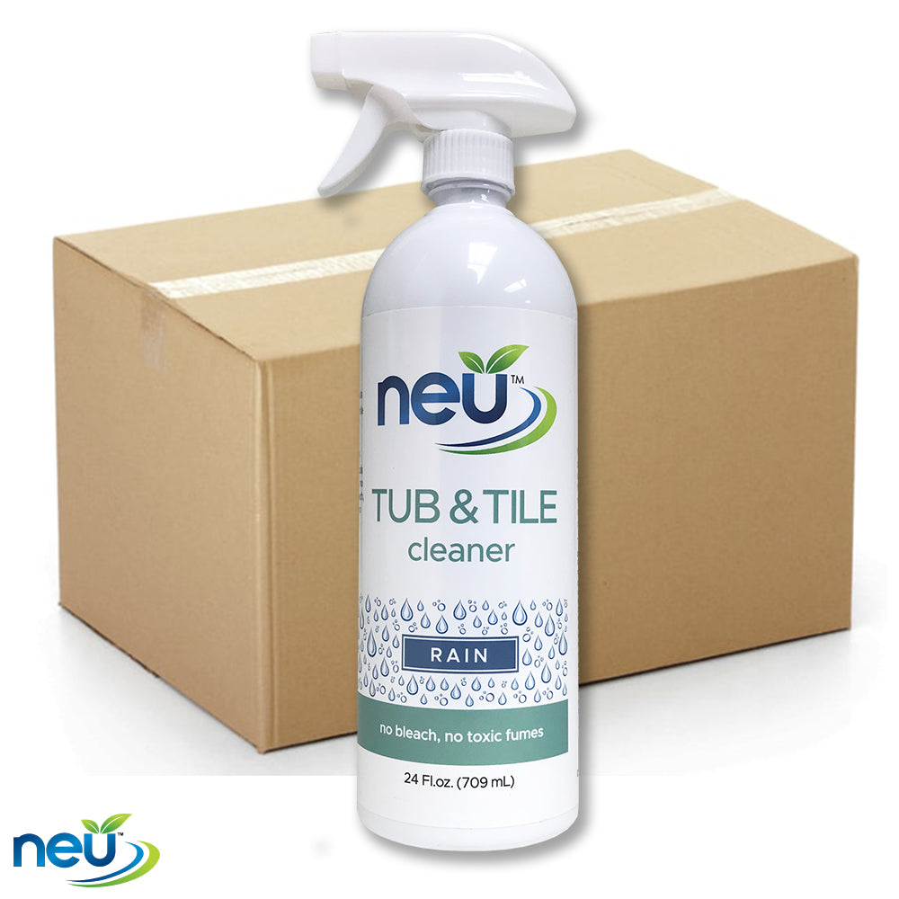 NEU Tub and Tile Cleaner - Rain Scent 24 oz 12 pk