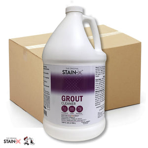 Stain-X Grout Cleaner 128 oz 4 pk