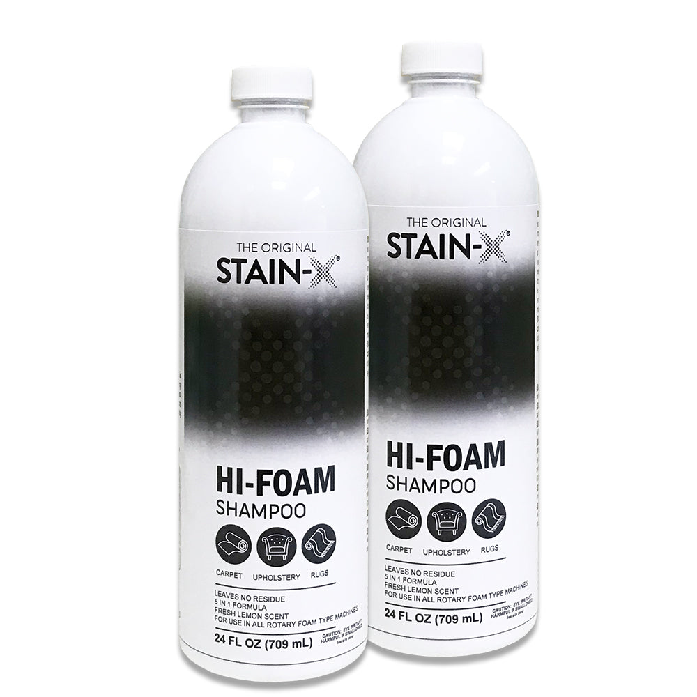 Stain-X Hi-Foam Carpet Shampoo 24 oz