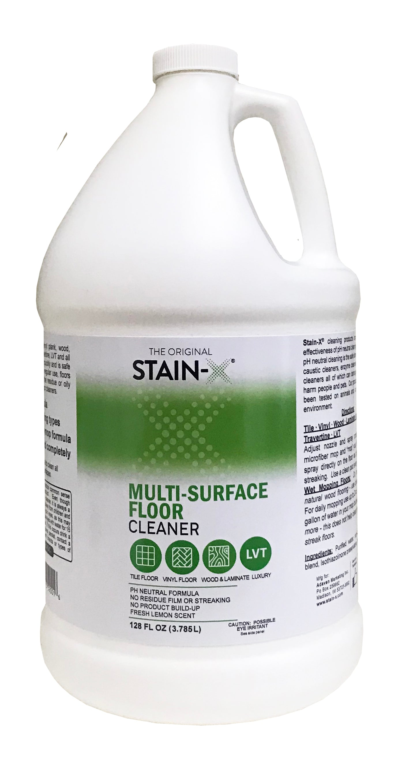 Stain-X Multi-Surface Floor Cleaner Gallon