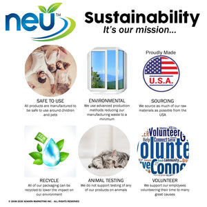 NEU Sustainability Graphic