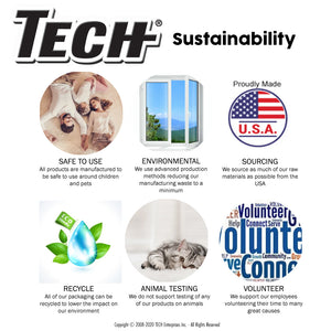 TECH Sustainability Graphic