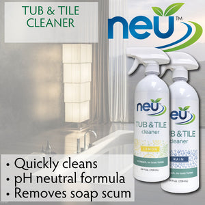 NEU Daily Tub & Tile Graphic