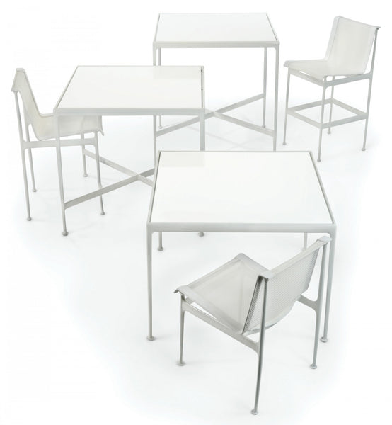 Knoll Richard Schultz 1966 Outdoor Bar Height Table White (2 in stock)