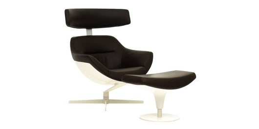 Cassina Auckland Lounge Chair (adjustable headrest) + Ottoman