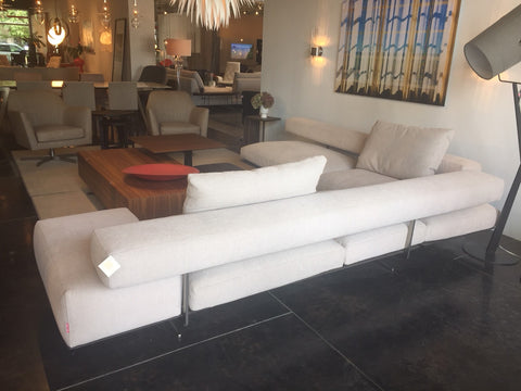 "Flexform ""Wing"" Sectional Sofa"