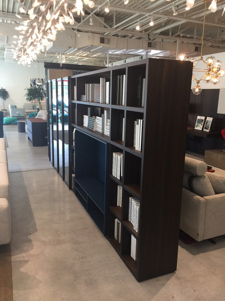 Poliform Wall System/Bookcase