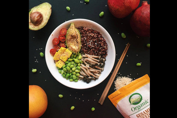 Recipe: Easy Vegan Sushi Bowl