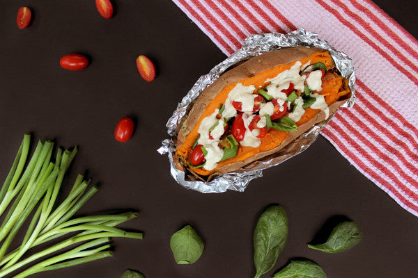 Recipe: Healthy Loaded Sweet Potato