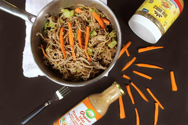 Recipe: Soba Noodles With Thai Peanut Sauce