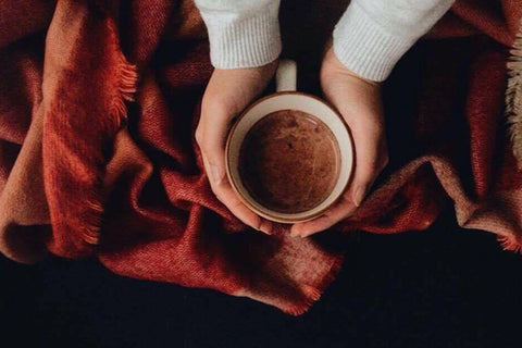 Vegan Hot Chocolate with Coconut Milk