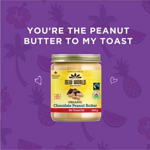 Peanut butter puns - you're the peanut butter to my toast - Elimento