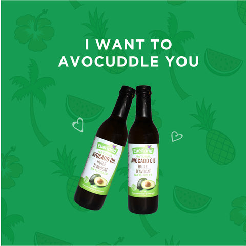 Avocado pun - I want to avocuddle you - Elimento