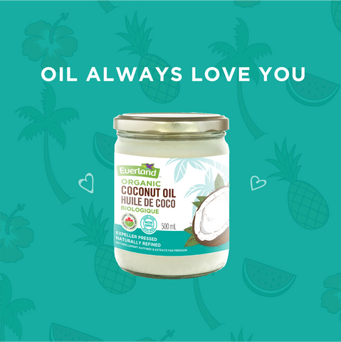 Oil puns - coconut oil jokes - oil always love you - Elimento