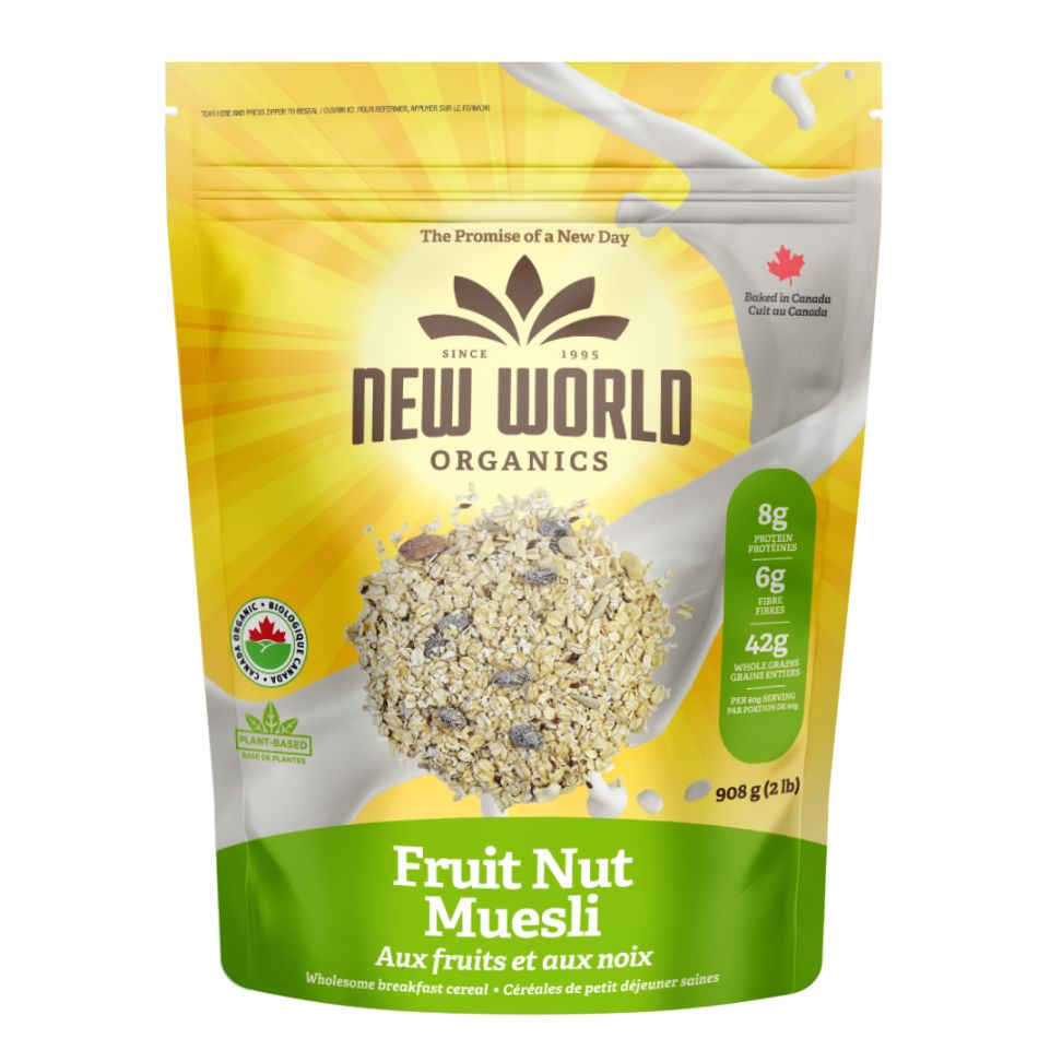 Nut Raisin Muesli, Organic (No Sugar Added)