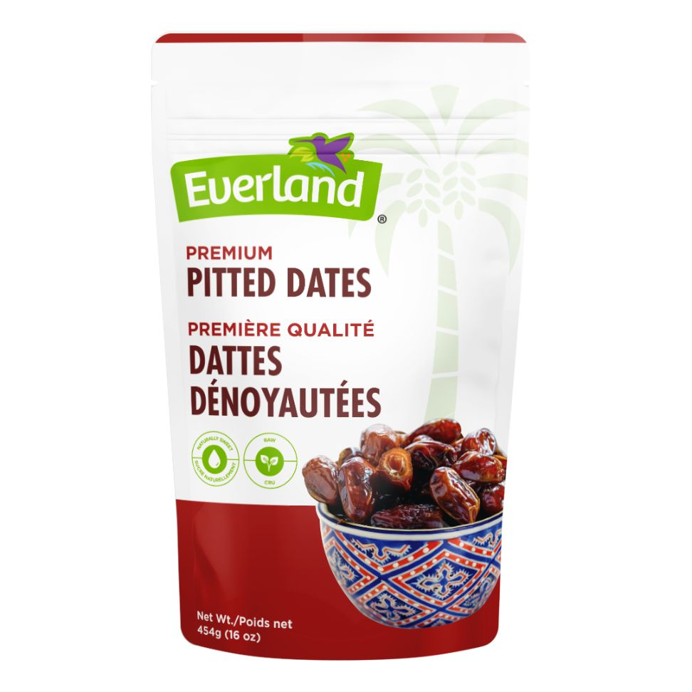 Whole Pitted Dates, Natural