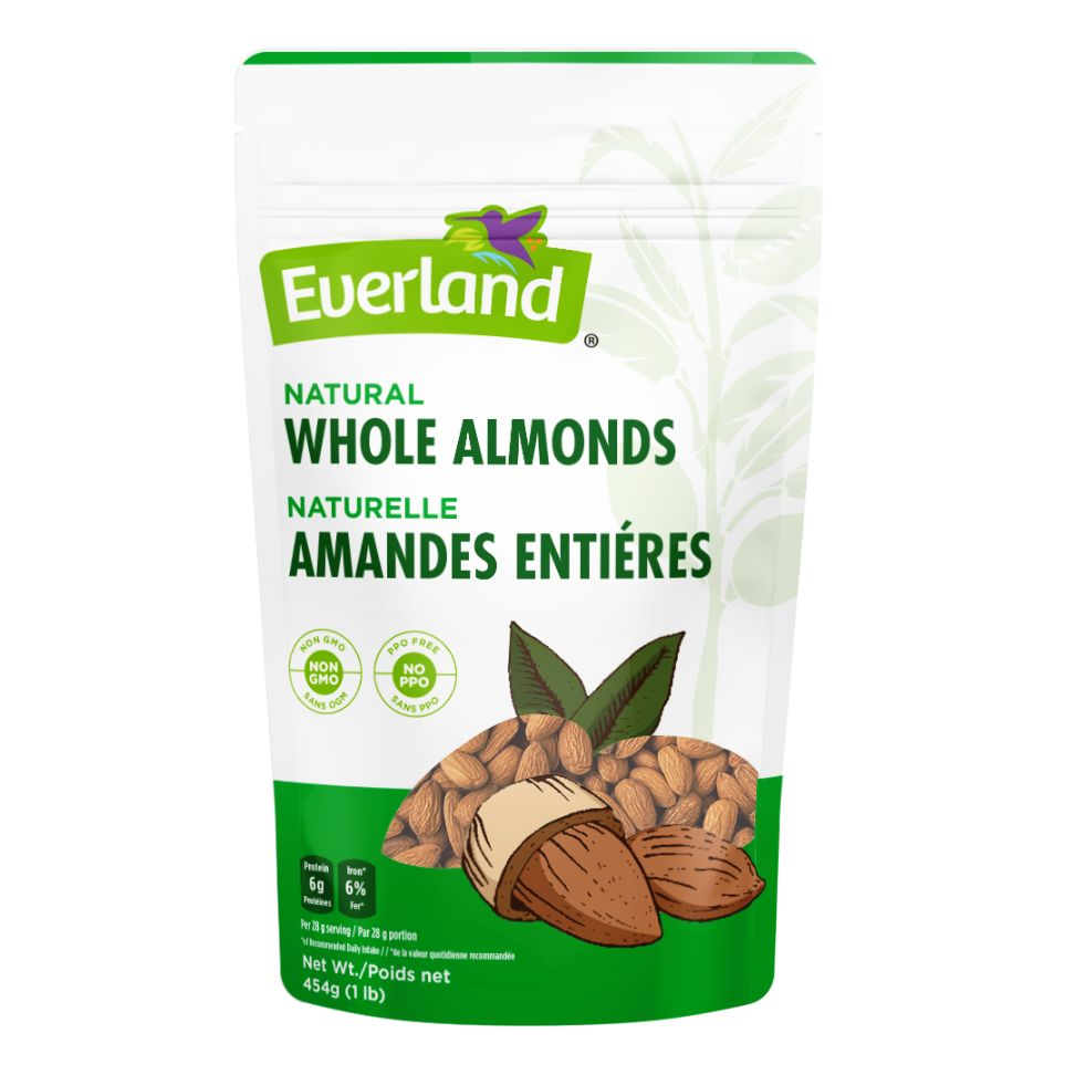 Whole Almonds, Natural