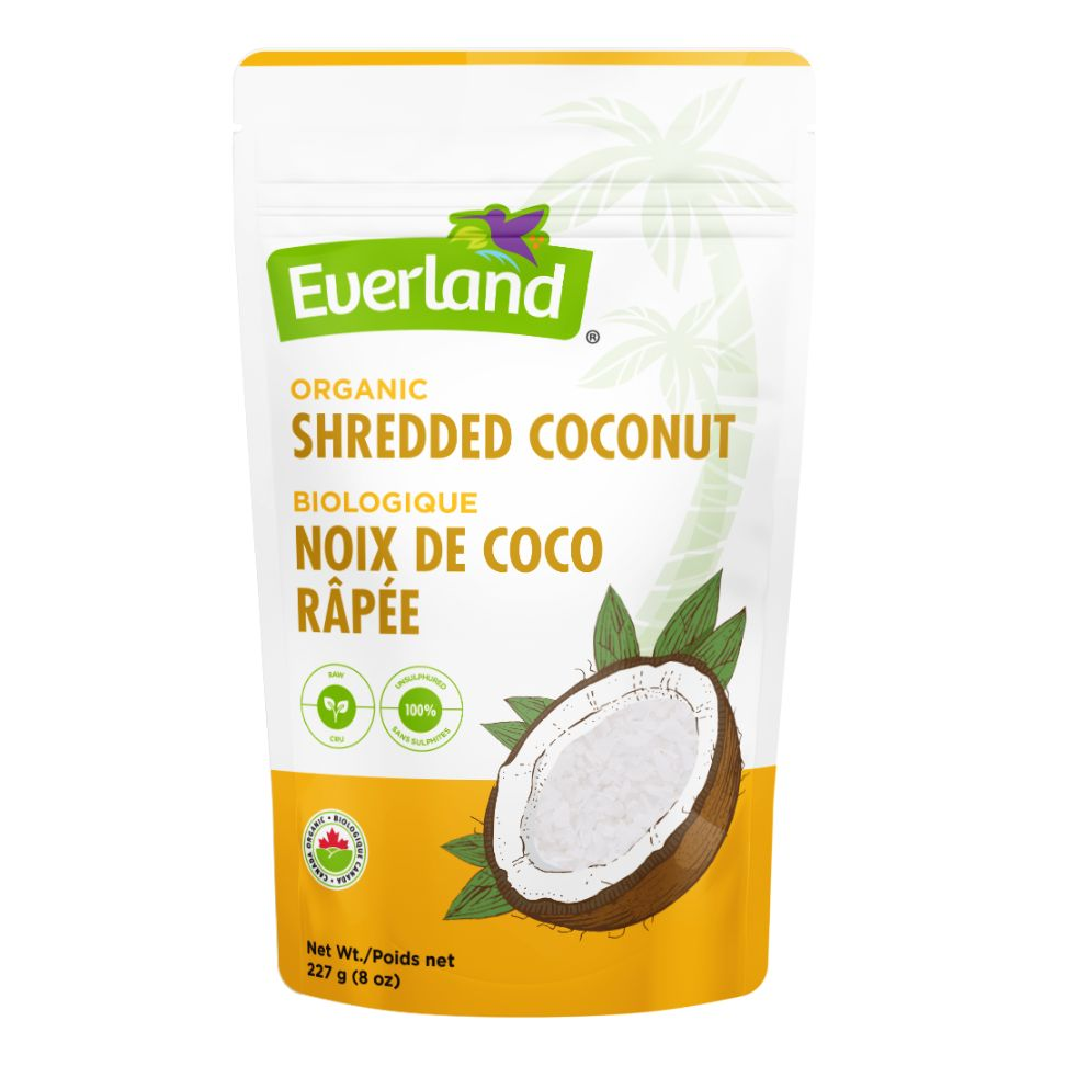 Organic Shredded Coconut 227g