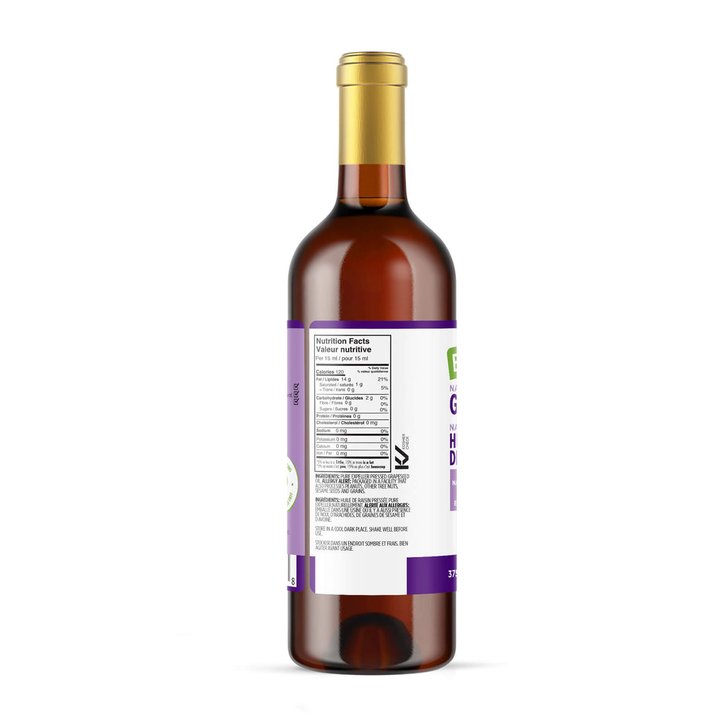 Grapeseed Oil, Natural 375ml