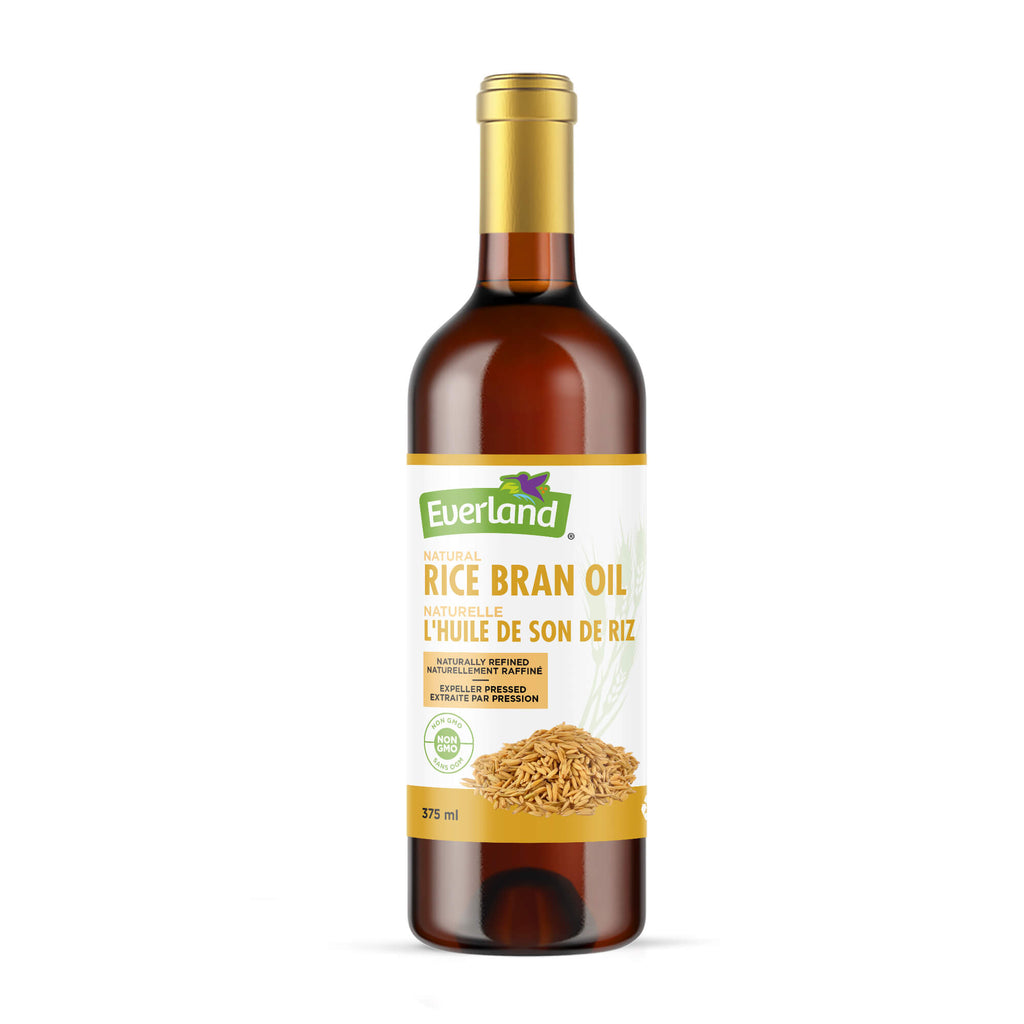 Natural Rice Bran Oil 375ml