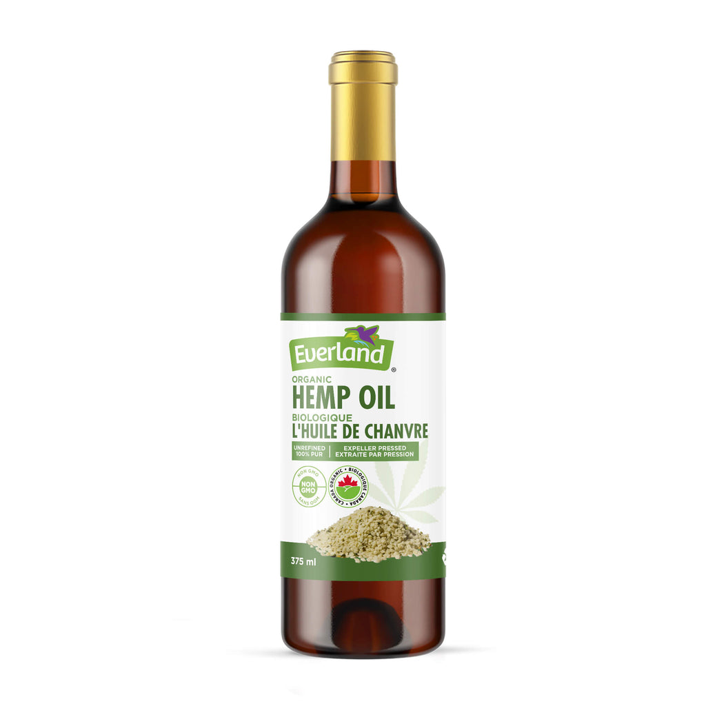 Virgin Hemp Seed Oil, Organic