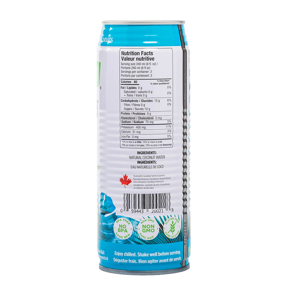Coconut Water, Pure 520ml