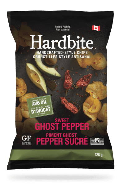 Hardbite - Sweet Ghost Pepper Chips (Avocado Oil)