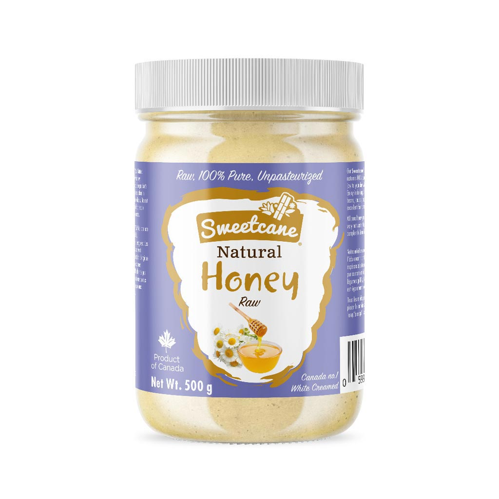 Sweetcane Natural Honey, Raw White Creamy