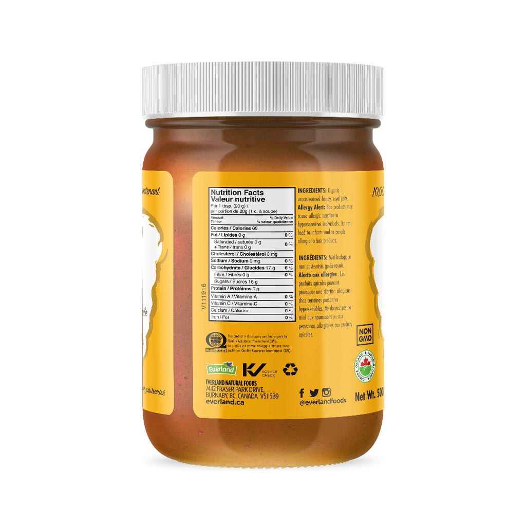 Sweetcane Organic Honey with Royal Jelly