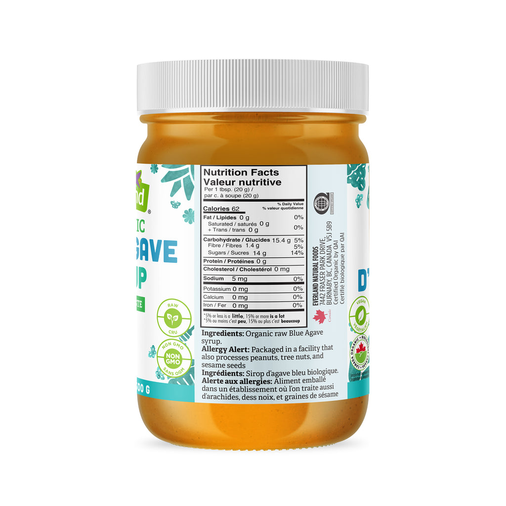 Blue Agave Syrup, Organic