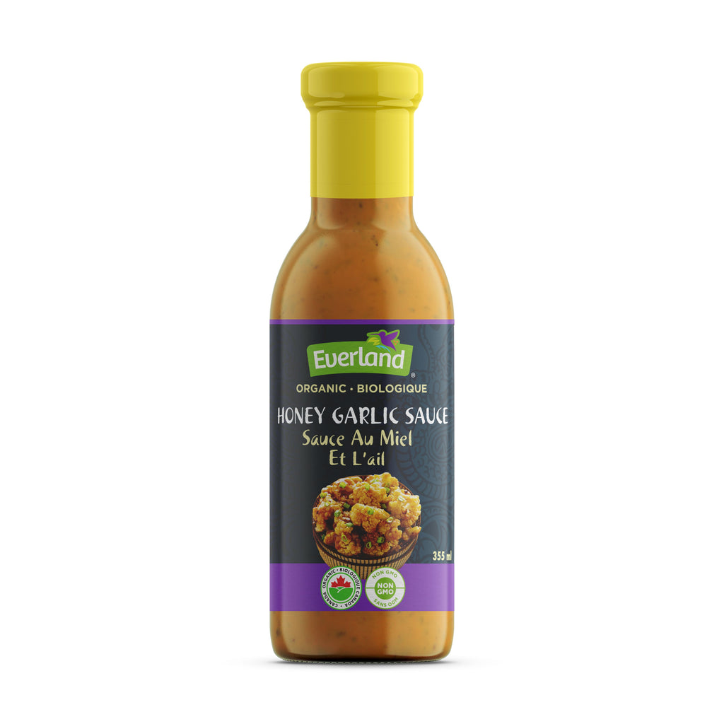 Honey Garlic Sauce, Organic 355ml