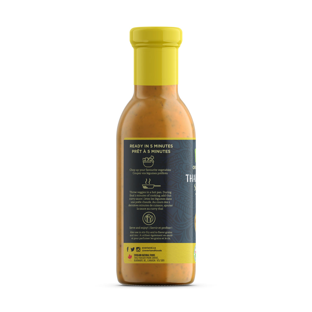 Thai Curry Sauce, Organic