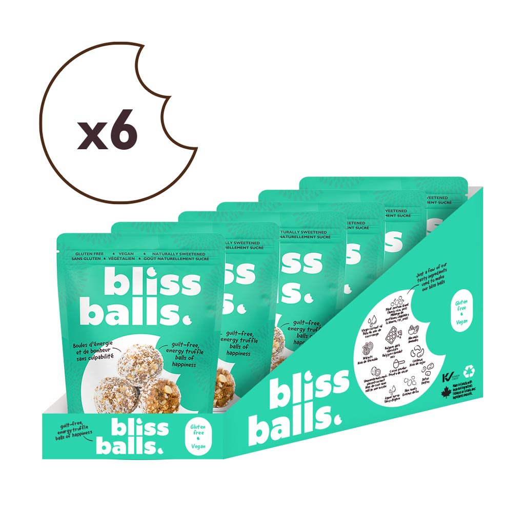Coconut Bliss Balls (6 x 6 Pack)
