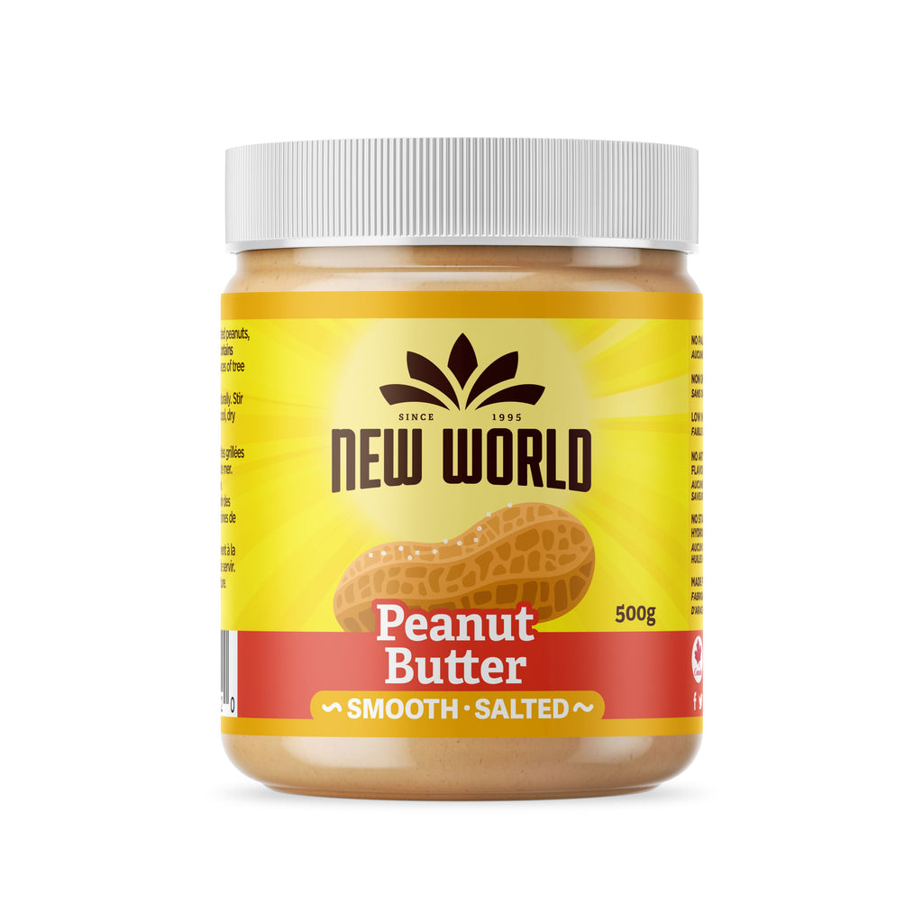 Peanut Butter, Smooth Salted, Natural