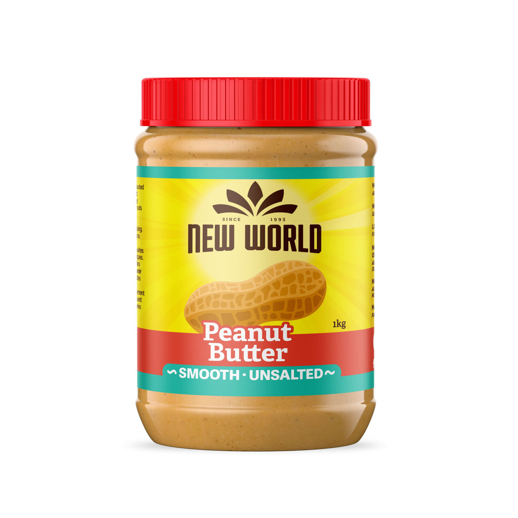 Peanut Butter, Smooth Unsalted, Natural