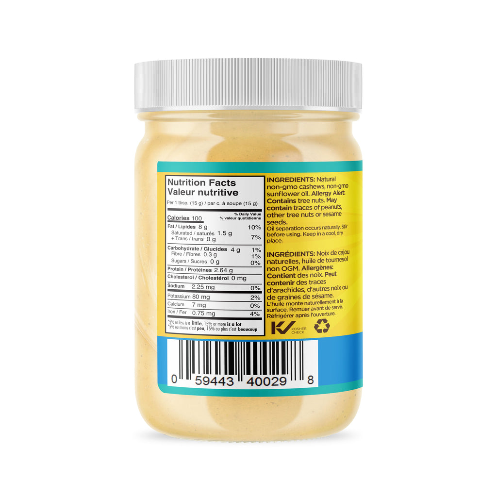 Raw Cashew Butter, Natural 365g